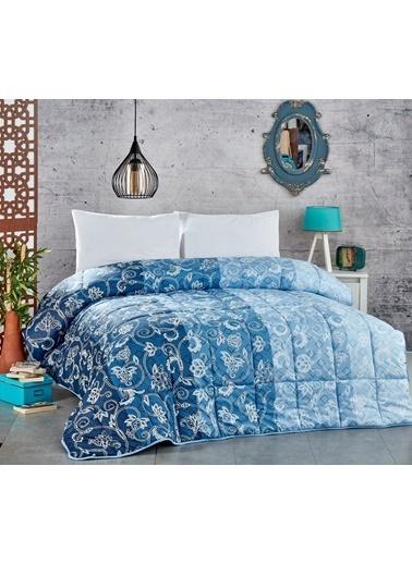 Komfort Home Çift Kişilik PolyCotton Yorgan + 2 Yastık / V5 Renkli